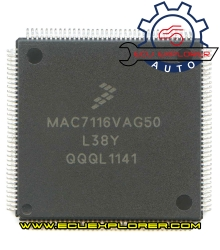 MAC7116VAG50 L38Y chip
